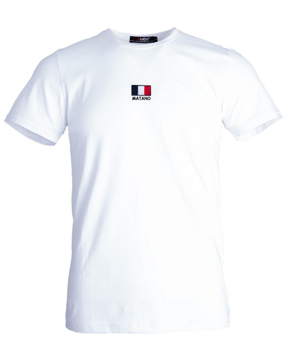 Áo thun trắng at760 - 3