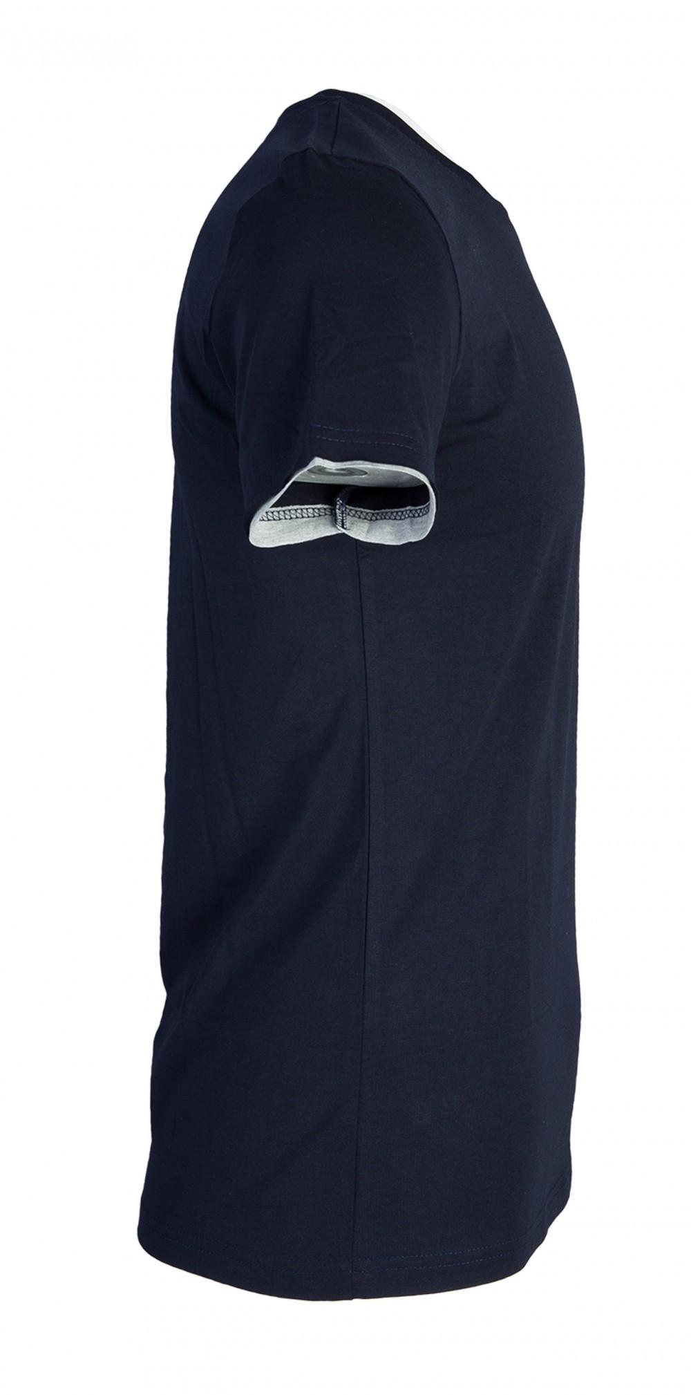 Áo thun xanh đen at761 - 2
