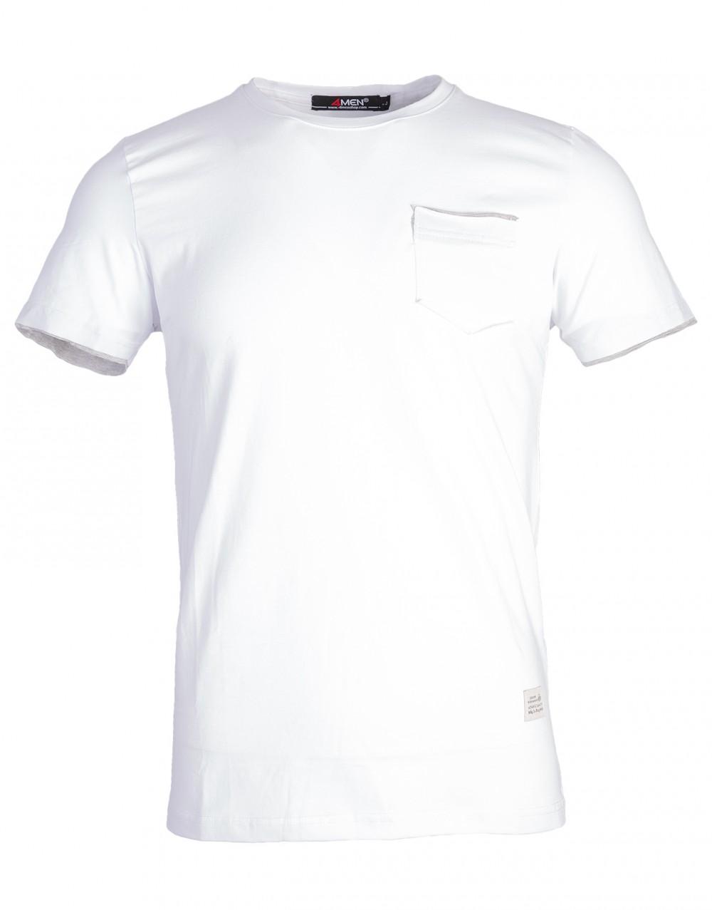 Áo thun trắng at761 - 1