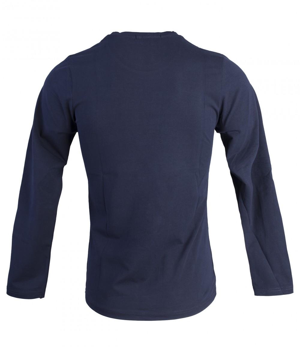 Áo thun tay dài xanh đen at748 - 3