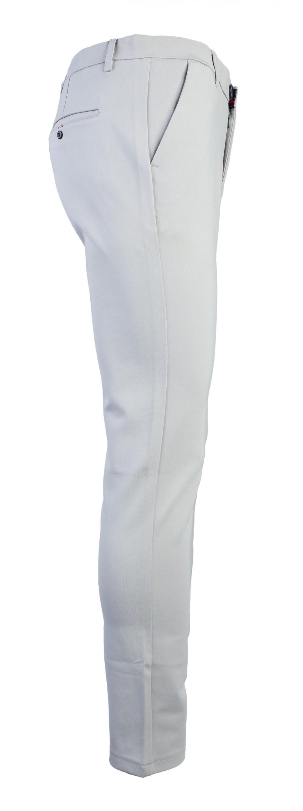 Quần tây xám trắng qt109 - 2