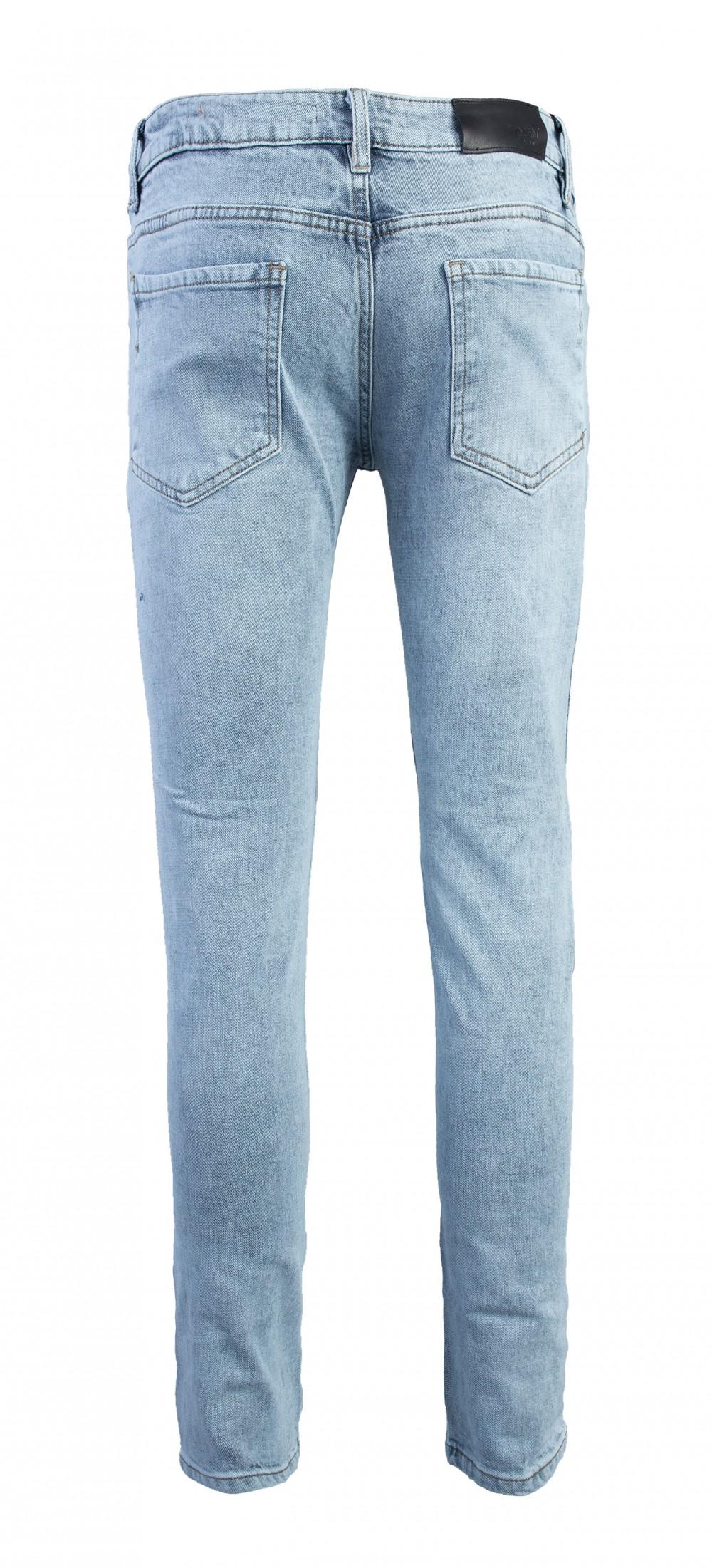 Quần jeans rách xanh qj1562 - 3