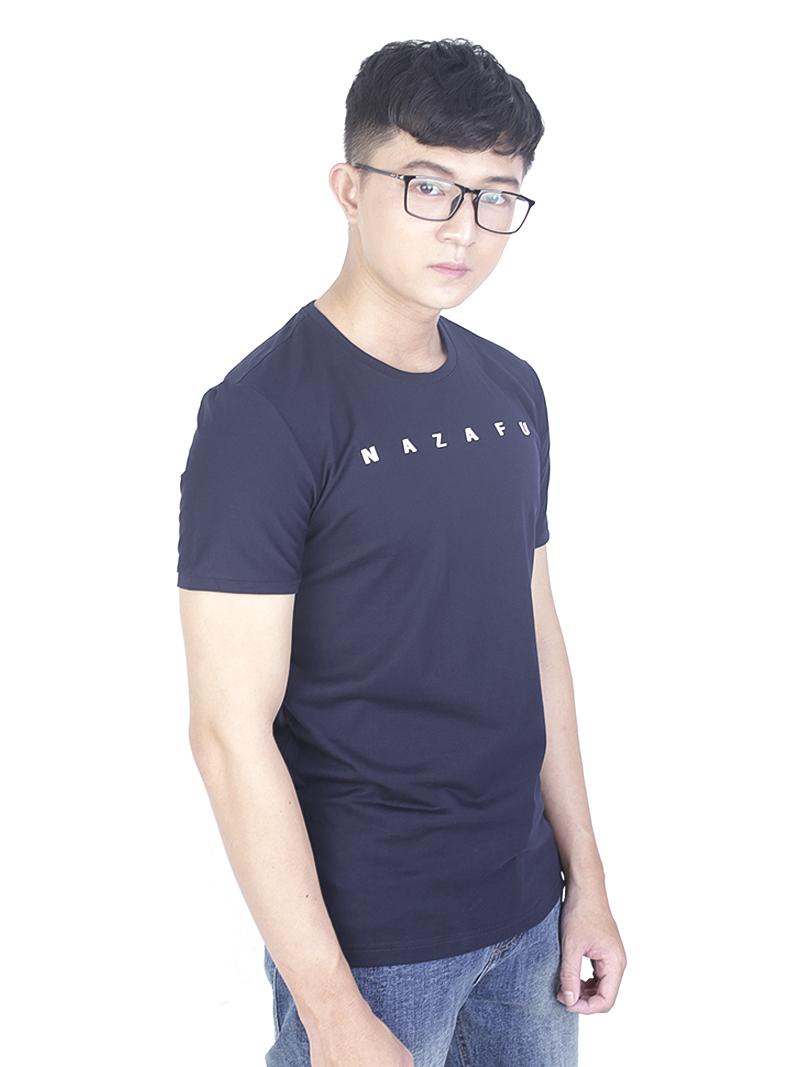 Áo thun xanh đen at759 - 1
