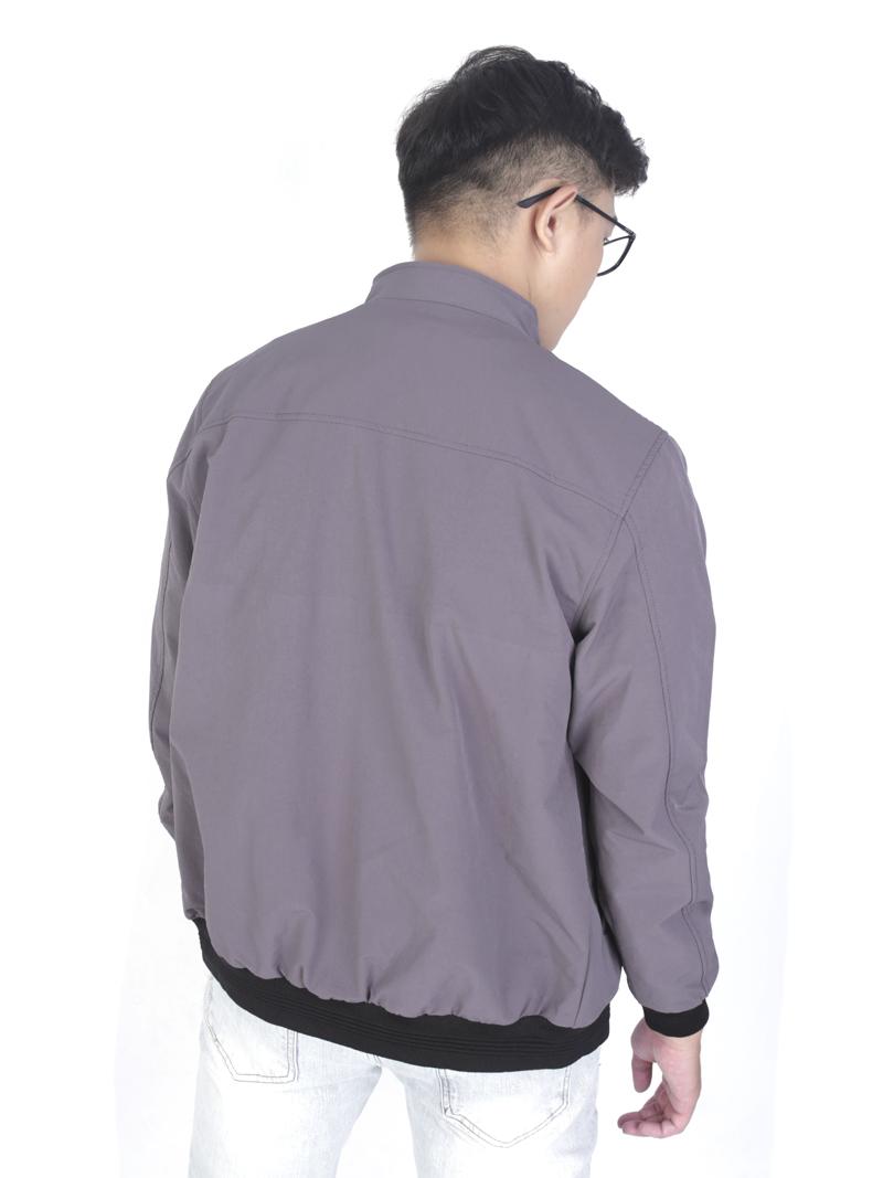 Áo khoác kaki xám chuột ak243 - 3