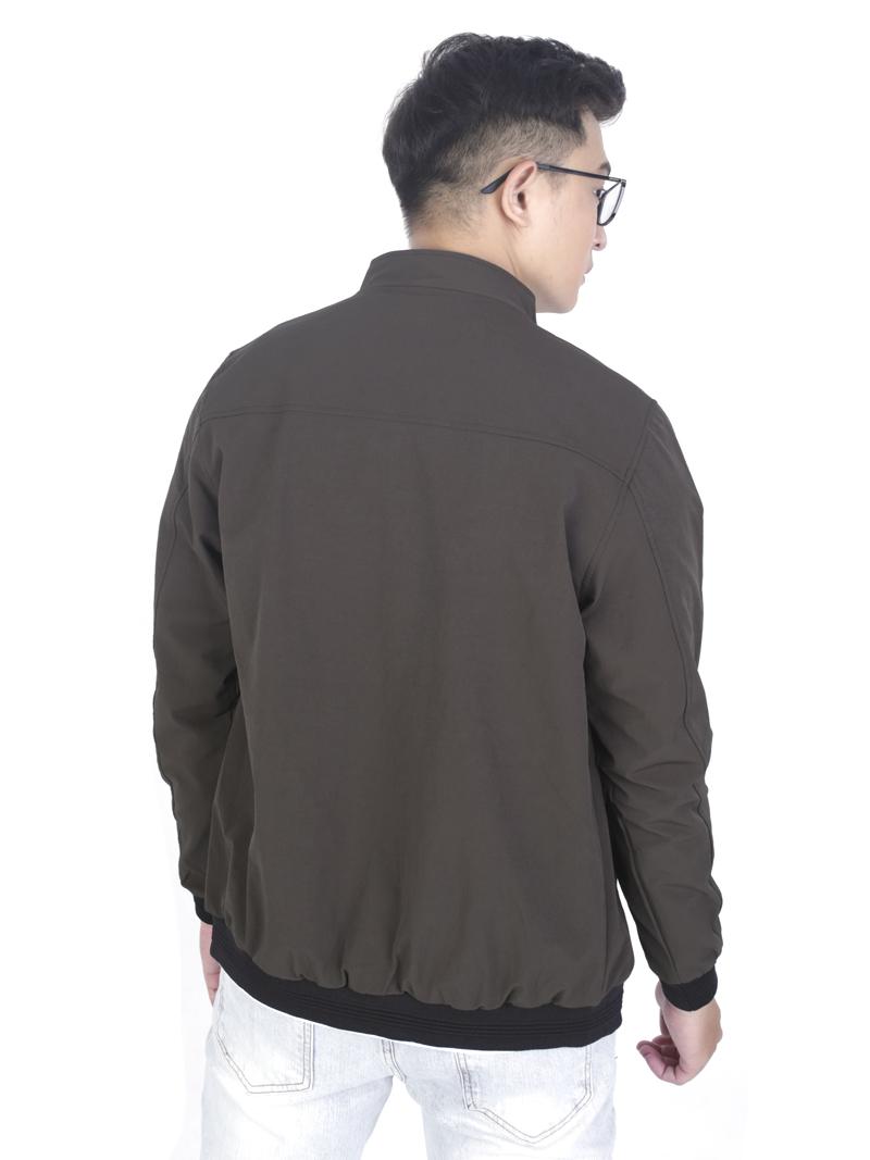 Áo khoác kaki màu rêu ak243 - 3