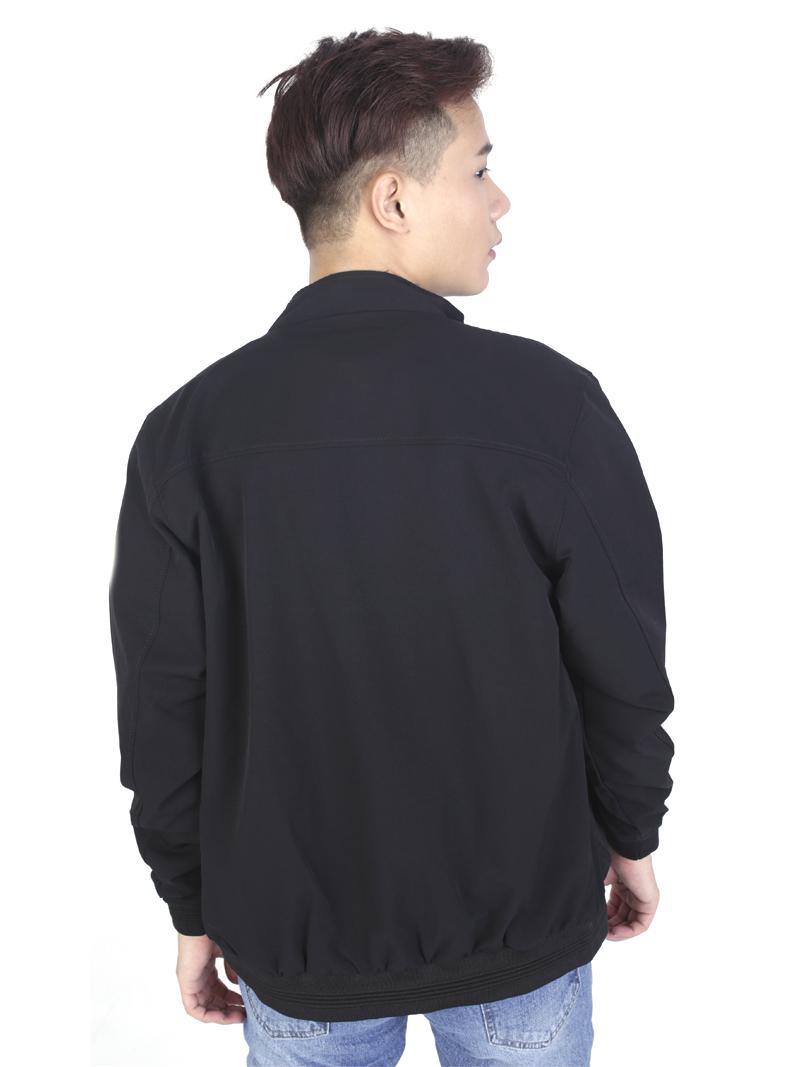 Áo khoác kaki đen ak243 - 3