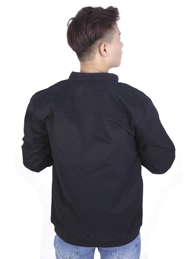 Áo khoác kaki đen ak233 - 2