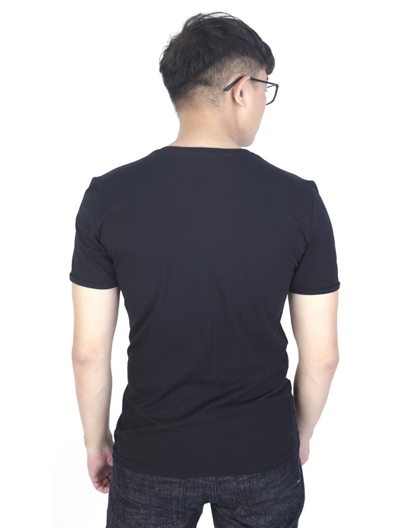 Áo thun đen at759 - 3