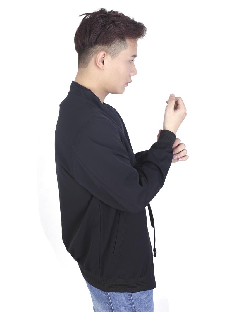 Áo khoác kaki đen ak243 - 2
