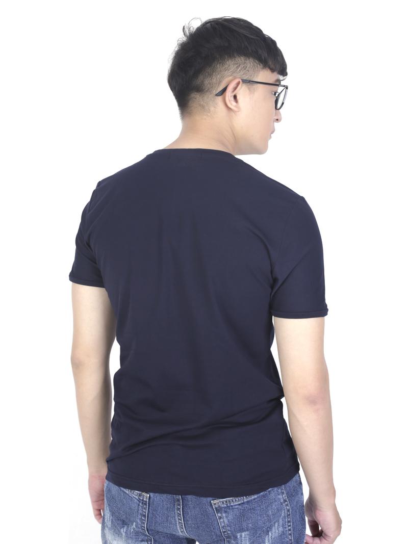 Áo thun xanh đen at762 - 3