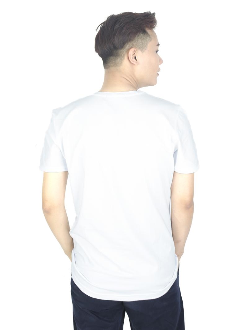 Áo thun trắng at760 - 2