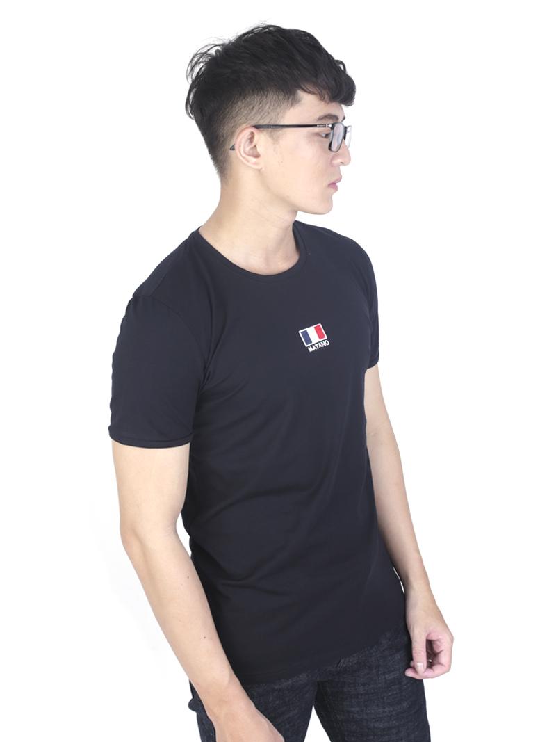 Áo thun đen at760 - 2