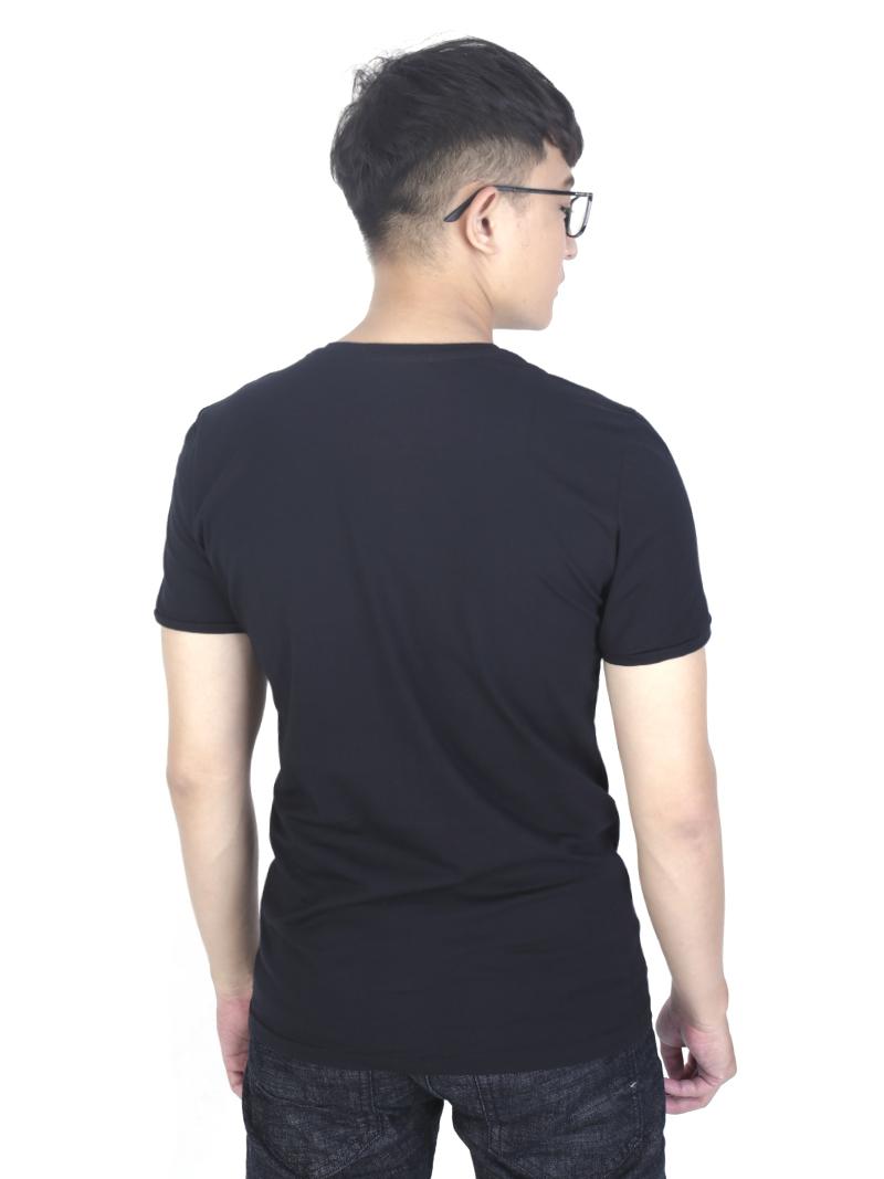 Áo thun đen at760 - 3