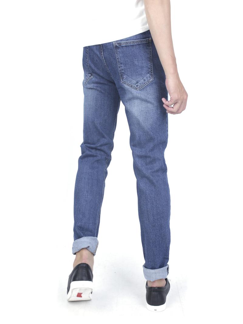 Quần jeans skinny xanh đen qj1590 - 3