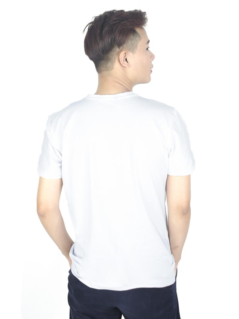 Áo thun trắng at763 - 3