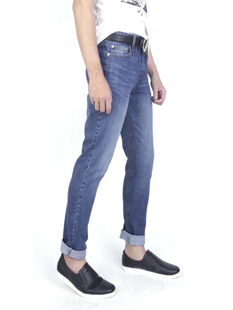 Quần jeans skinny xanh đen qj1590 - 2