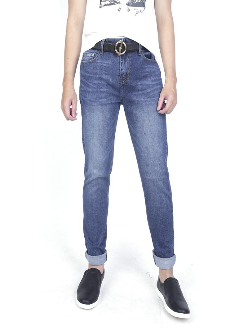 Quần jeans skinny xanh đen qj1590 - 1