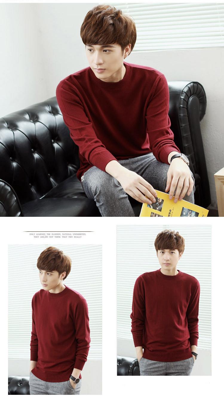 Áo len đỏ đô al123 - 1