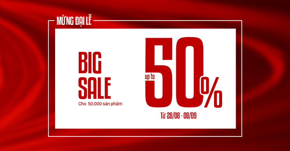 National day - sale upto 50 - 1