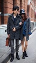 Đông ngọt ngào với áo khoác đôi