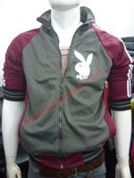 Áo khoác bóng chày playboy K41 Đỏ Đô