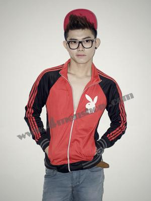 Áo khoác bóng chày playboy K41 Đỏ
