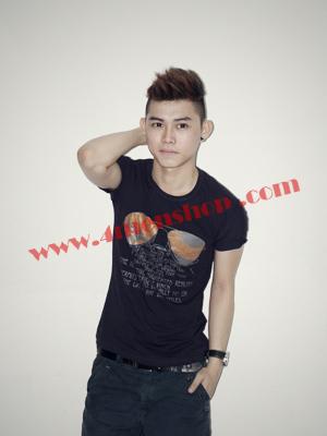 Áo Thun Nam Teen AT0118 Đen