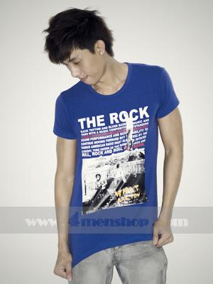 Áo Thun Teen Gía Rẻ AT0112 Xanh
