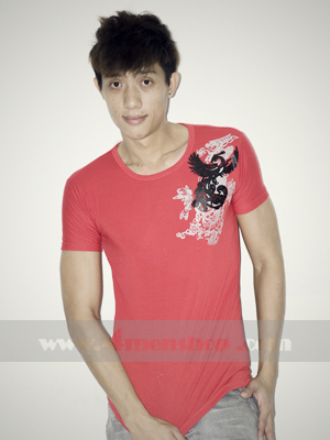 Áo Thun Teen Gía Rẻ AT0123 Đỏ