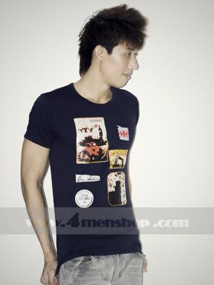 Áo Thun Teen Gía Rẻ AT0124 Đen