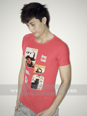 Áo Thun Teen Gía Rẻ AT0124 Đỏ