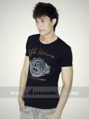 Áo Thun Teen Gía Rẻ AT0125 Đen
