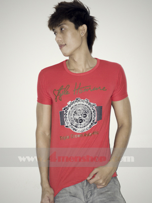 Áo Thun Teen Gía Rẻ AT0125 Đỏ