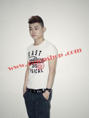 Áo Thun Teen Rẻ AT0116 Trắng