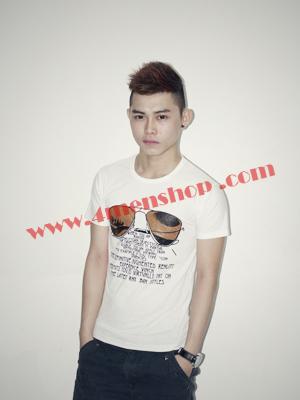 Áo Thun Teen Rẻ AT0118 Trắng