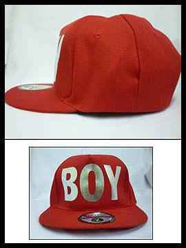 Nón hiphop BOY Đỏ Đô NF017