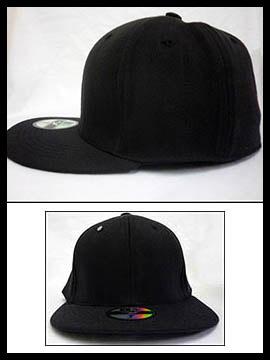 Nón Hiphop Đen NF020