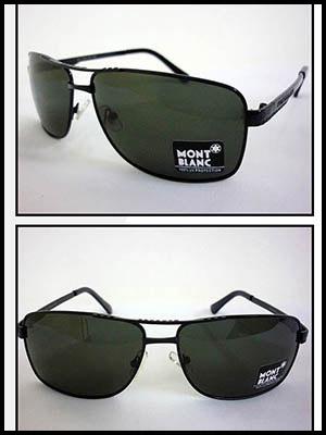 Mắt Kính Nam Đen MONT BLANC MKF006