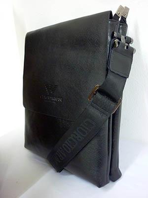 Túi đựng Ipad Da Đen ARMANI TXF001