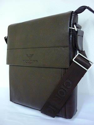 Túi đựng Ipad Da Nâu ARMANI TXF007