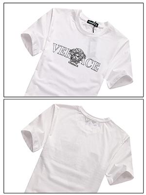 Áo thun cao cấp Versace Trắng AT480