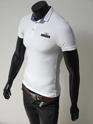 Áo thun cao cấp trắng AT490