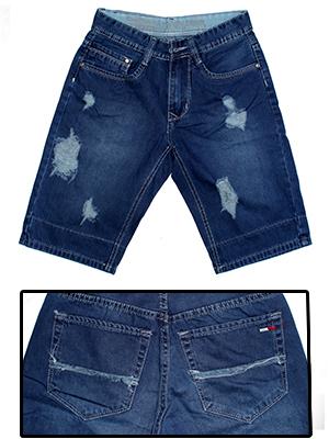 Quần Short Jeans Xanh Dương QS05