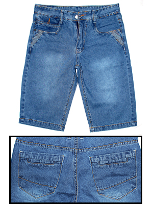 Quần Short Jeans Xanh Dương QS06