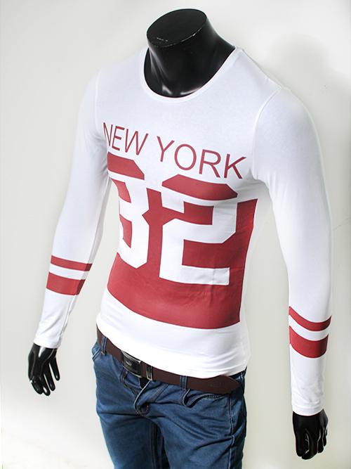 Áo thun trắng cao cấp in chữ Đỏ AT511