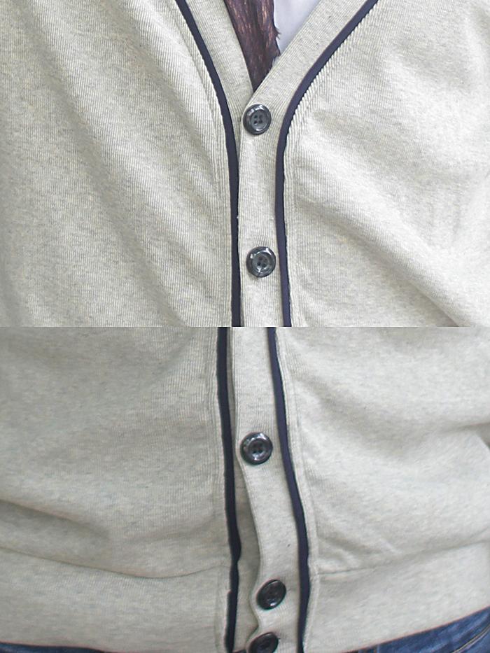 Áo khoác cardigan xám muối tiêu ac085 - 2