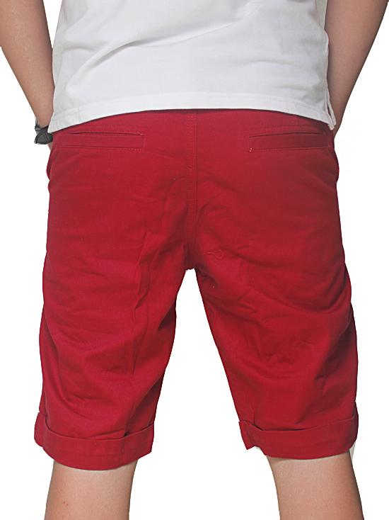 Quần short kaki đỏ qs39 - 2