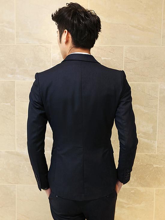 Áo vest cao cấp xanh đen av2l1065 - 2