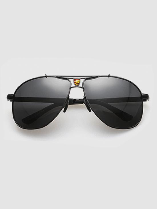Mắt kính đen nam mk102 - 1