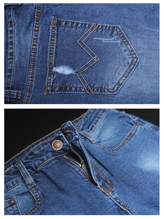 Quần jean rách xanh đen qj1247 - 2